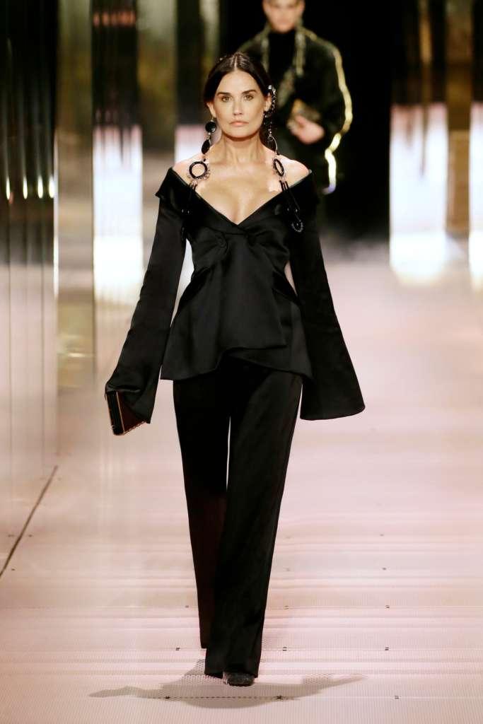 Fendi Demi Moore Fendi Fashion Show 2021