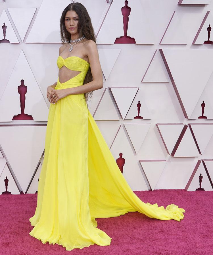 Best Oscar Dresses of 2021 Design Details