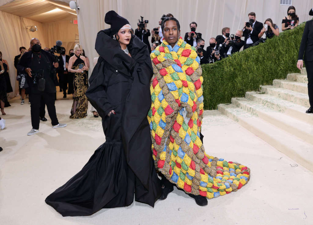 Rihanna A$AP Rocky Met Gala 2021