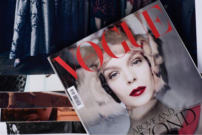Vogue Magazine Fashion Business