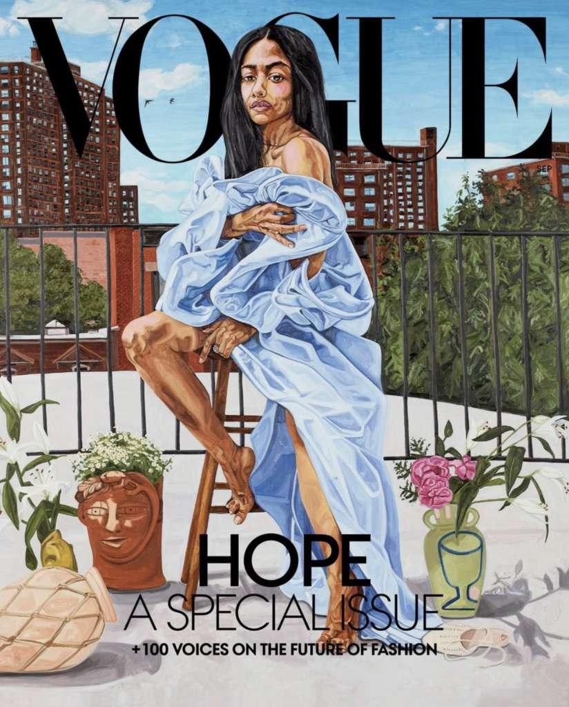 Vogue Cover jordan casteel Aurora James