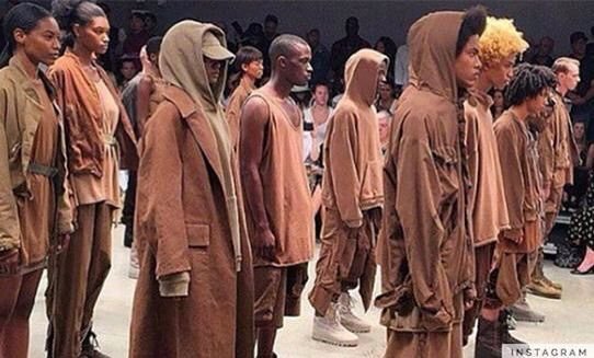 Yeezy Collection Nude Fashion