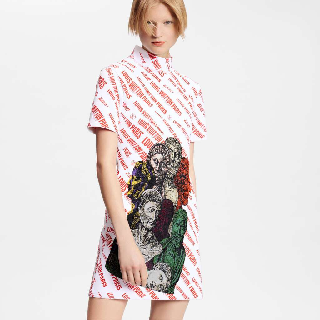 Wildest Prints In Louis Vuitton New Dress Collection