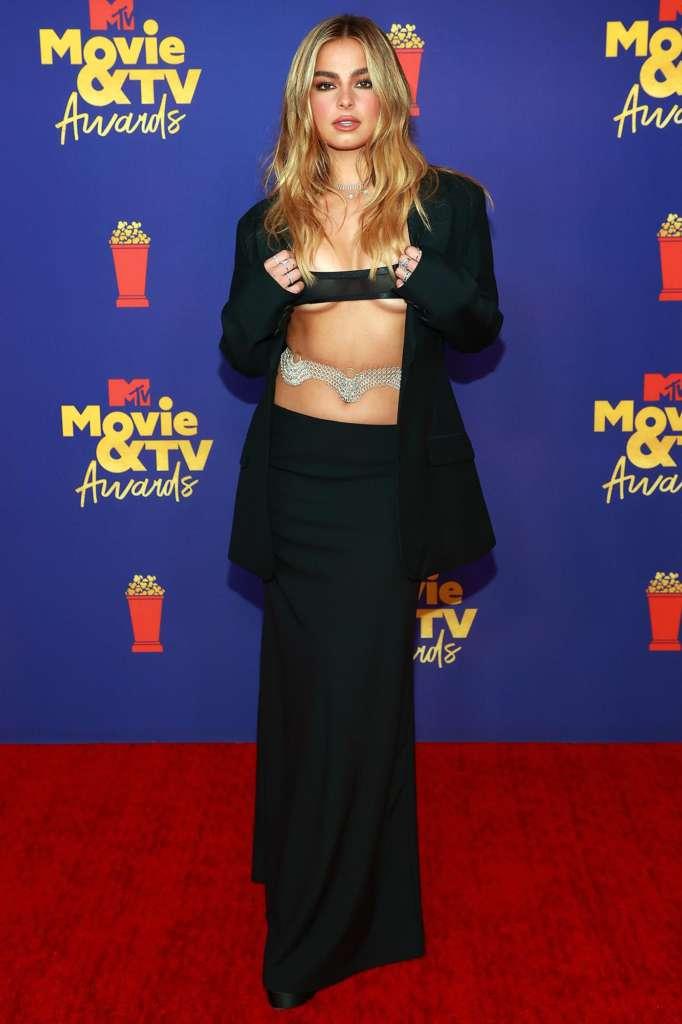 Addison Rae's MTV Dress