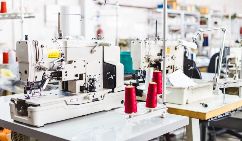 Automated Electric Sewing Machine Apparel Manufacturing