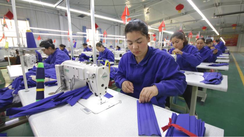 Chinese apparel industry